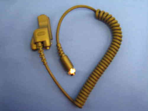 REPLACEMENT CORD FOR THROAT MICROPHONE M3 Motorola Multi Pin